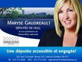 Maryse Gaudreault députée de Hull